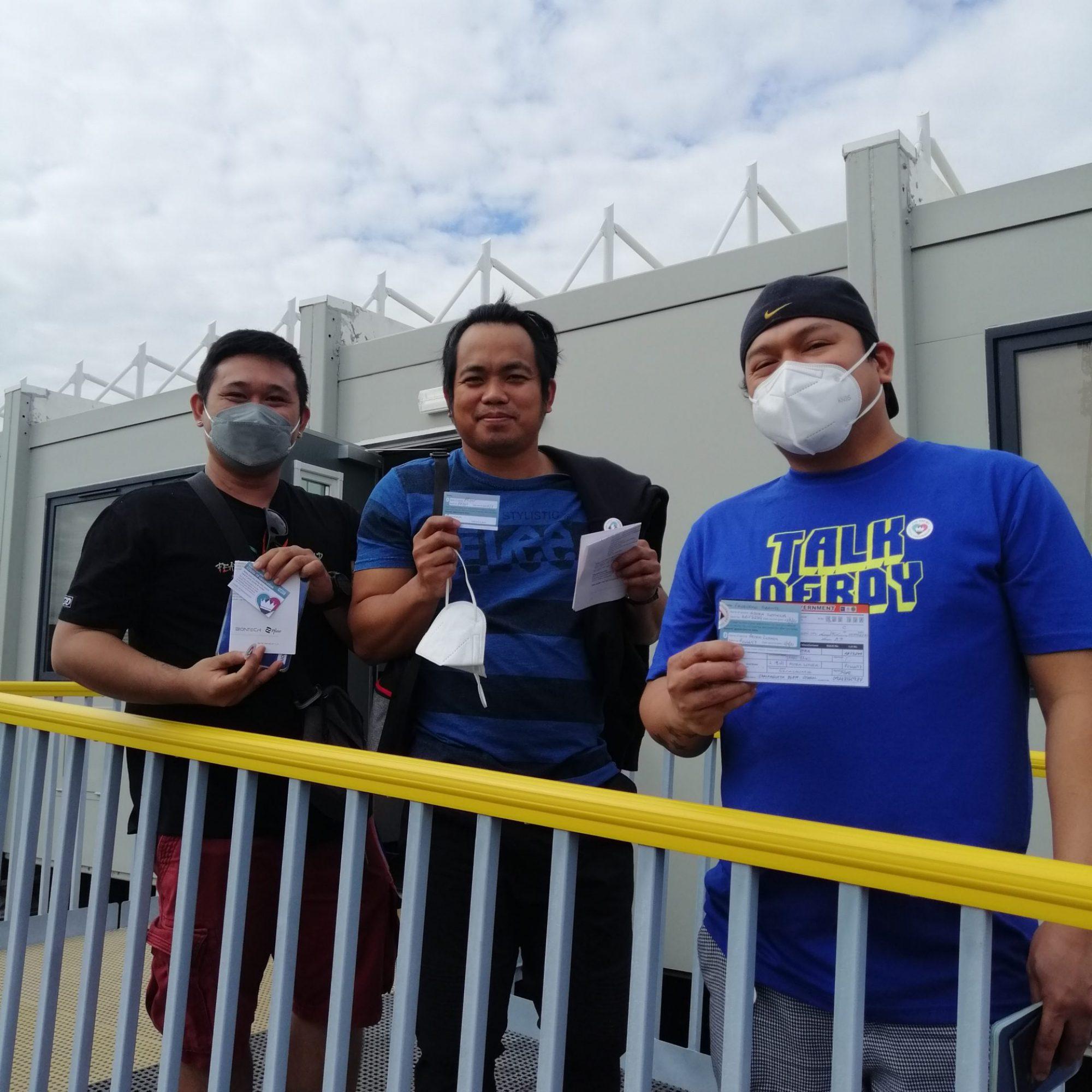 Seafarer vaccinations